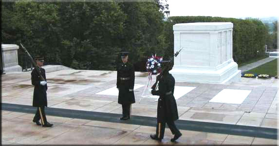 'Click Here for  the Tomb of the Unknowns Web-Site